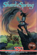 Shard of Spring Commodore 64 Front Cover