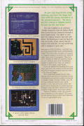 The Eternal Dagger Commodore 64 Back Cover