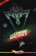 The Cosmic Balance Apple II Front Cover