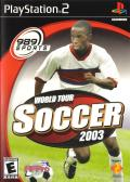 World Tour Soccer 2003 PlayStation 2 Front Cover