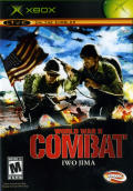 World War II Combat: Iwo Jima Xbox Front Cover