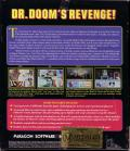 The Amazing Spider-Man and Captain America in Dr. Doom's Revenge! DOS Back Cover
