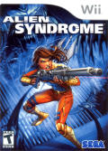 Alien Syndrome Wii Front Cover