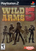 Wild Arms 5 PlayStation 2 Front Cover