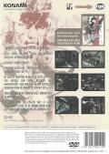 Metal Gear Solid 2: Sons of Liberty PlayStation 2 Back Cover