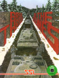 Breakthrough in the Ardennes Atari 8-bit Front Cover