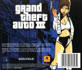 Grand Theft Auto III Windows Other Jewel Case - Back