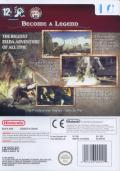The Legend of Zelda: Twilight Princess Wii Back Cover