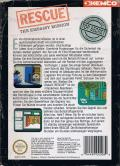 Hostage: Rescue Mission NES Back Cover