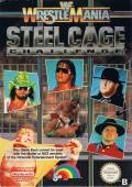 WWF Wrestlemania: Steel Cage Challenge NES Front Cover