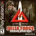 Delta Force: Urban Warfare PlayStation Front Cover