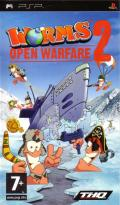 Worms: Open Warfare 2 PSP Front Cover