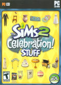 The Sims 2: Celebration! Stuff Windows Front Cover