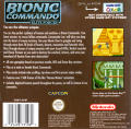 Bionic Commando: Elite Forces Game Boy Color Back Cover