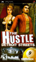 The Hustle: Detroit Streets PSP Front Cover