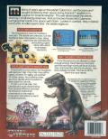 The Transformers: Battle to Save the Earth Commodore 64 Back Cover