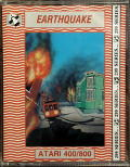 Earthquake San Francisco 1906 Atari 8-bit Front Cover
