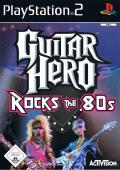 Guitar Hero Encore: Rocks the 80s PlayStation 2 Front Cover