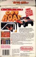 Ivan 'Ironman' Stewart's Super Off Road NES Back Cover