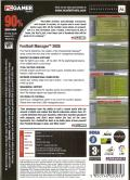 Worldwide Soccer Manager 2005 Windows Back Cover
