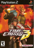 Time Crisis 3 PlayStation 2 Front Cover