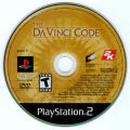The Da Vinci Code PlayStation 2 Media