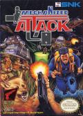 Mechanized Attack NES Front Cover