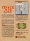 Panzer-Jagd Commodore 64 Back Cover