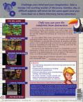 Lost Secret of the Rainforest DOS Back Cover