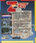 Z-Out Amiga Back Cover