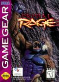 Primal Rage Game Gear Front Cover