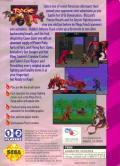 Primal Rage Game Gear Back Cover