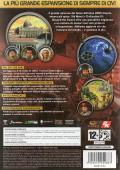 Sid Meier's Civilization IV: Beyond the Sword Windows Back Cover