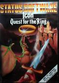ICON: Quest for the Ring DOS Front Cover