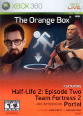 The Orange Box Xbox 360 Front Cover