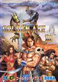 Golden Axe III Genesis Front Cover
