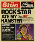 Rock Star Ate My Hamster Commodore 64 Front Cover