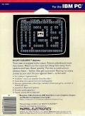 Night Stalker PC Booter Back Cover
