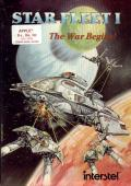 Star Fleet I: The War Begins! Apple II Front Cover