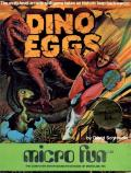 Dino Eggs Commodore 64 Front Cover