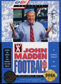 John Madden Football '93 Genesis Front Cover