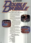 Double Dribble Commodore 64 Back Cover