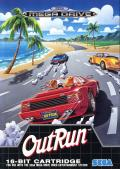 OutRun Genesis Front Cover