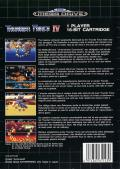 Lightening Force: Quest for the Darkstar Genesis Back Cover