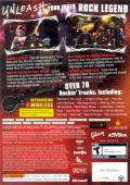 Guitar Hero III: Legends of Rock Xbox 360 Other Keep Case - Back