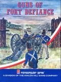 Guns of Fort Defiance Apple II Front Cover