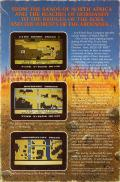 Field of Fire Commodore 64 Back Cover