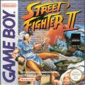 Street Fighter II Game Boy Front Cover