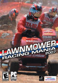 Lawnmower Racing Mania 2007 Windows Front Cover
