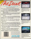 The Duel: Test Drive II Amiga Back Cover